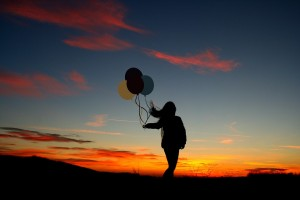sunset-ballons